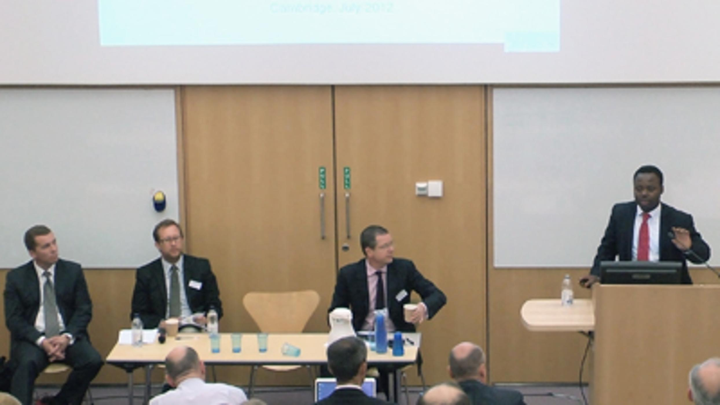 Day 3: 'Diagnostics in Evidence-Based Policing': Justice Tankebe, Paul Quinton, William McWilliam & Robert Carden