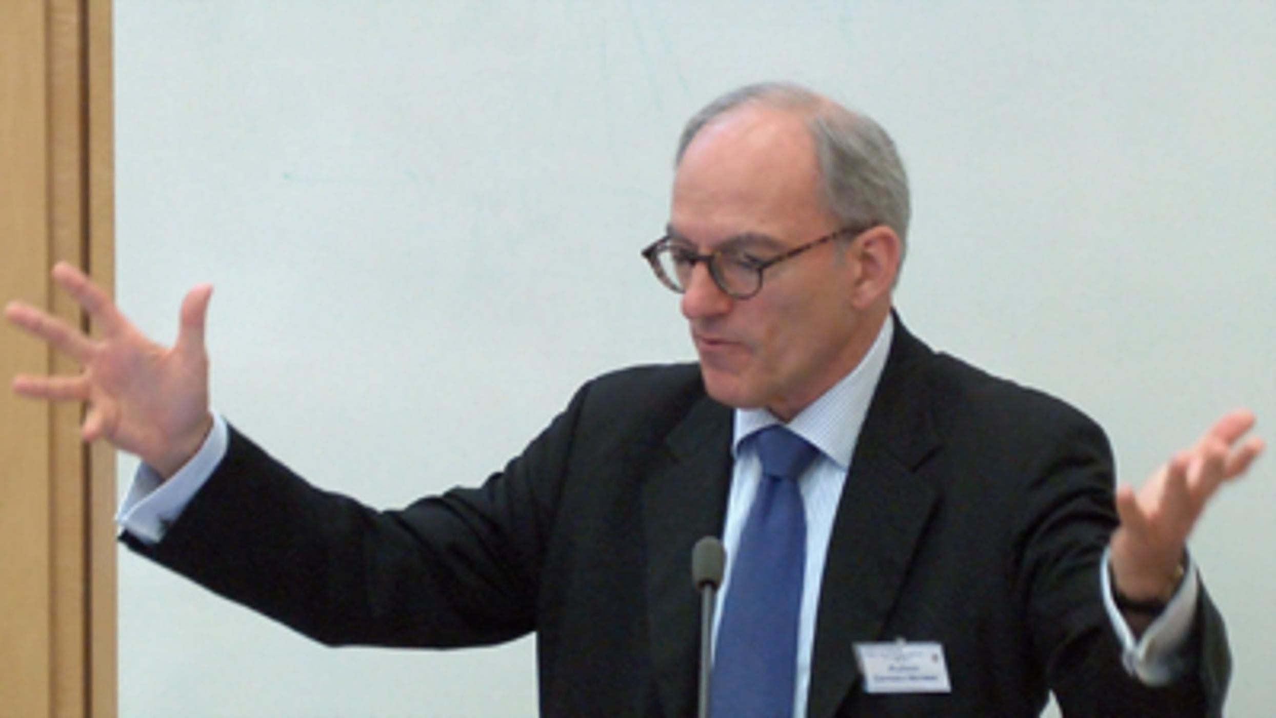 Day 2: 'Statistical Forecasting of Dangerousness at Point of Arrest in the UK': Lawrence Sherman & Peter Neyroud (Audio)